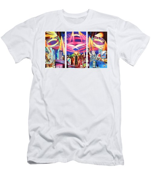 Phish New York For New Years Triptych Men's T-Shirt (Athletic Fit)