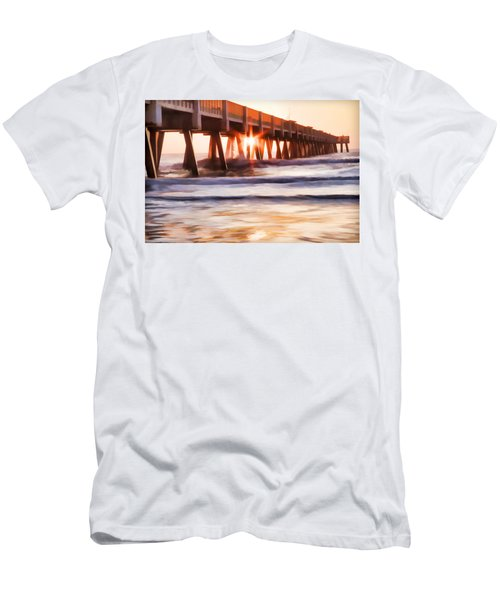 Pier Sunrise Too Men's T-Shirt (Athletic Fit)