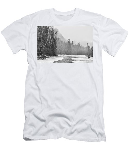 Pigeon River Men's T-Shirt (Athletic Fit)