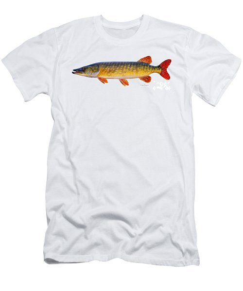 Pike Men's T-Shirt (Slim Fit) by Carey Chen