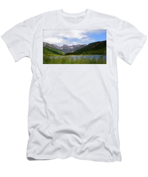 Piney Lake In Upper Vail Men's T-Shirt (Athletic Fit)