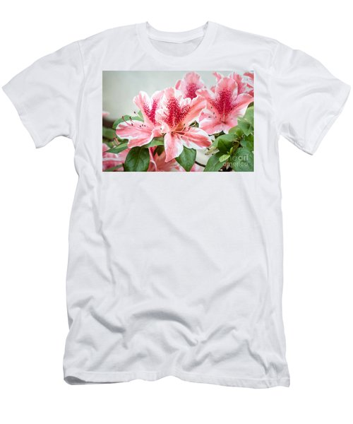 Pink Azaleas Men's T-Shirt (Athletic Fit)