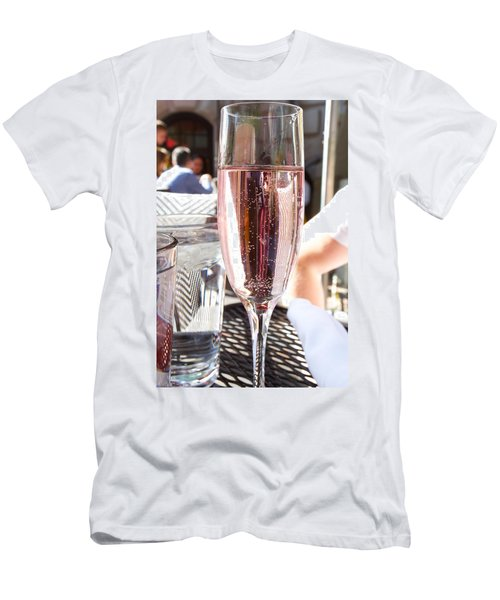 Pink Prosecco Men's T-Shirt (Athletic Fit)