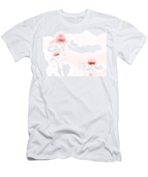 Pink Sonata  Men's T-Shirt (Slim Fit) by Andrea Kollo