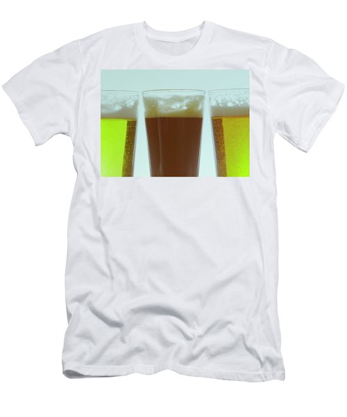 Pints Of Beer Men's T-Shirt (Athletic Fit)