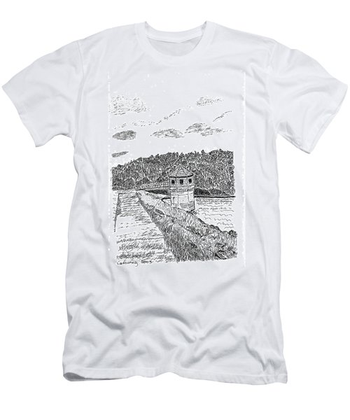 Pittsburg Dam Men's T-Shirt (Athletic Fit)