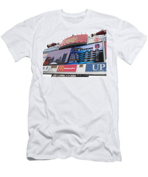 Men's T-Shirt (Slim Fit) featuring the photograph Pittsburgh Ketchup  by Michael Krek