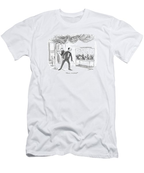 Places, Everybody! Men's T-Shirt (Athletic Fit)