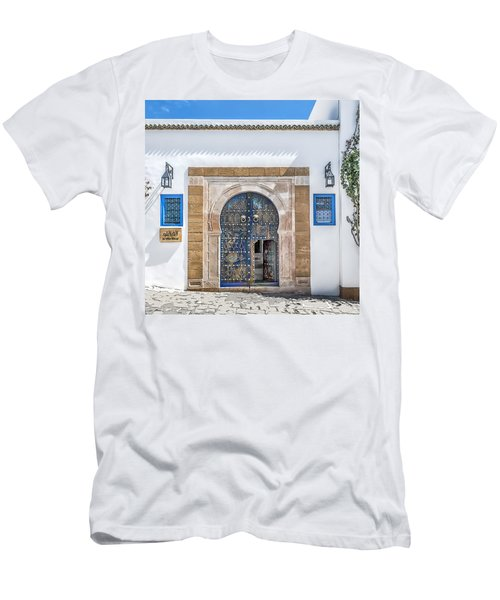 Please Come In Men's T-Shirt (Athletic Fit)