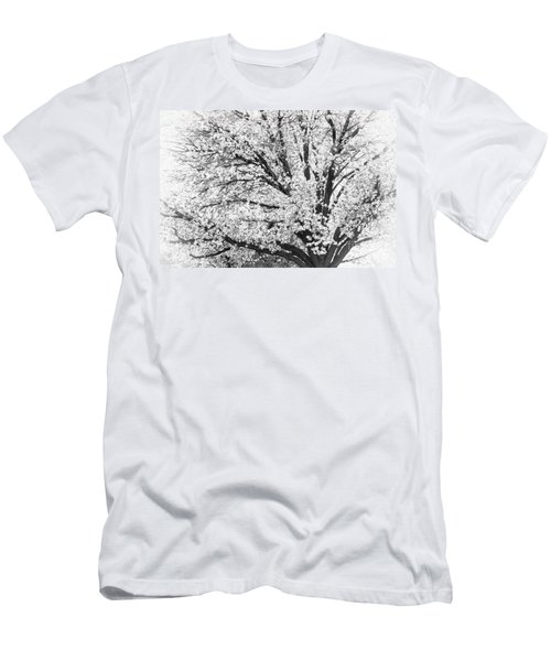 Men's T-Shirt (Slim Fit) featuring the photograph Poetry Tree by Roselynne Broussard