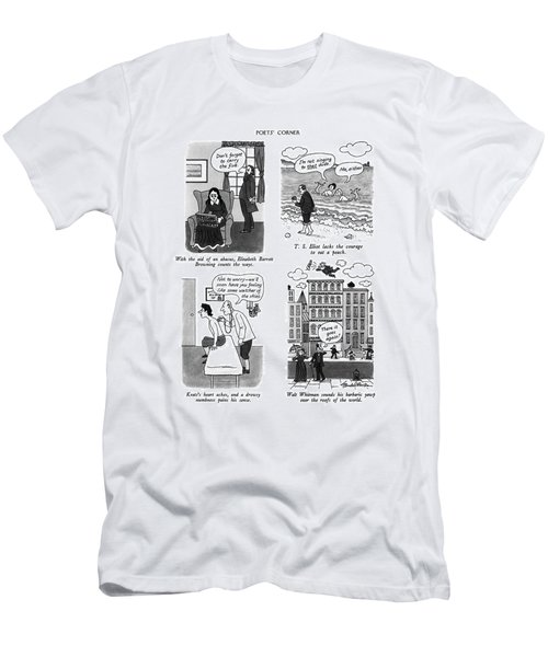 Poets' Corner Men's T-Shirt (Athletic Fit)
