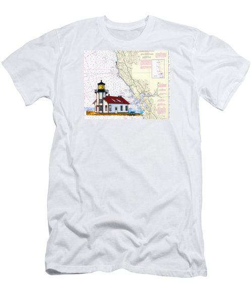 Point Cabrillo Light Station Men's T-Shirt (Athletic Fit)