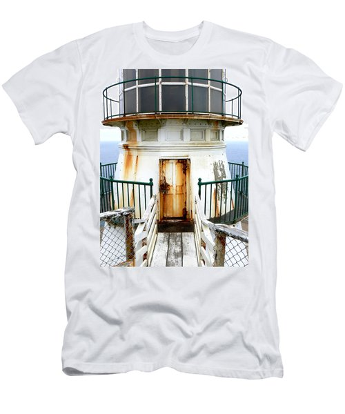 Point Reyes Historic Lighthouse Men's T-Shirt (Athletic Fit)