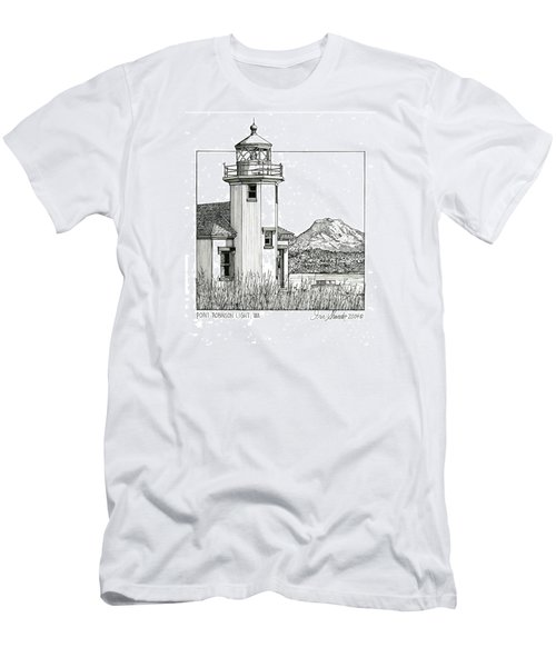 Point Robinson Light Men's T-Shirt (Slim Fit) by Ira Shander