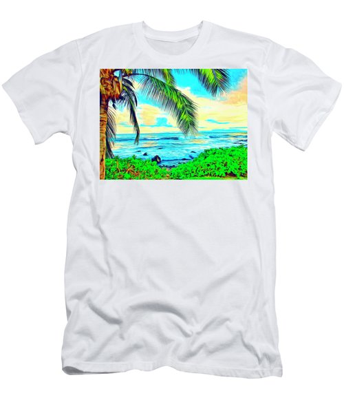 Poipu Sunrise Men's T-Shirt (Athletic Fit)