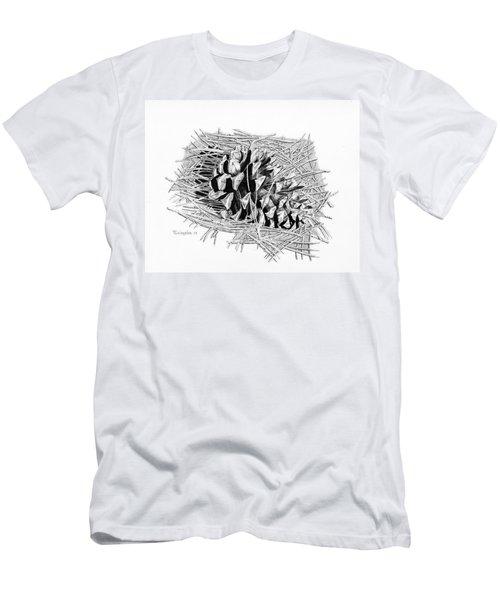 Ponderosa Pine Cone Men's T-Shirt (Athletic Fit)