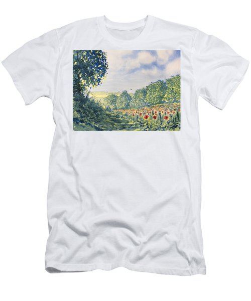 Poppies A'plenty Men's T-Shirt (Athletic Fit)