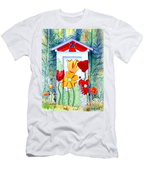 Poppy Potty Men's T-Shirt (Athletic Fit)