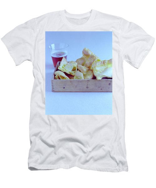 Pork Rinds With A Pint Men's T-Shirt (Athletic Fit)