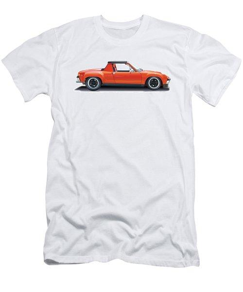 Porsche 914-6 Gt Men's T-Shirt (Slim Fit) by Alain Jamar
