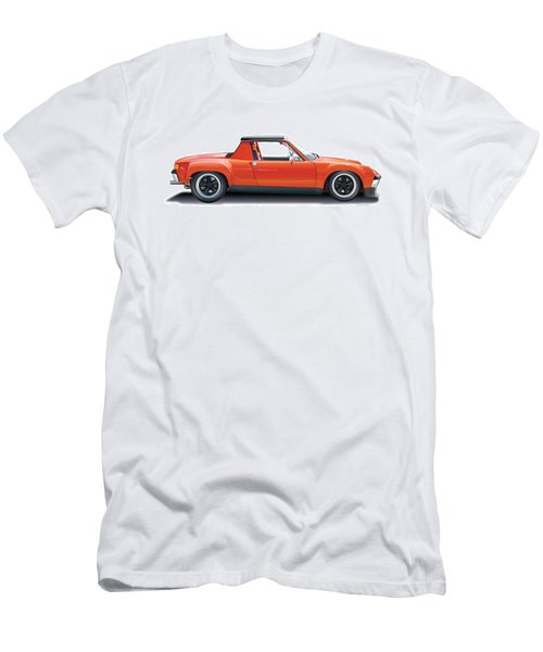 Porsche 914-6 Gt Men's T-Shirt (Athletic Fit)