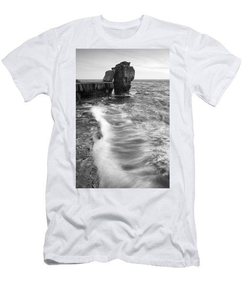 Portland Bill Seascape Men's T-Shirt (Athletic Fit)
