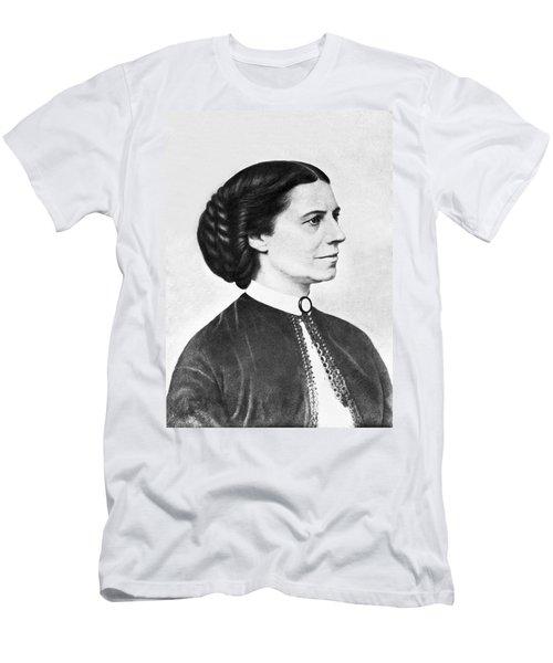 Portrait Of Clara Barton Men's T-Shirt (Athletic Fit)