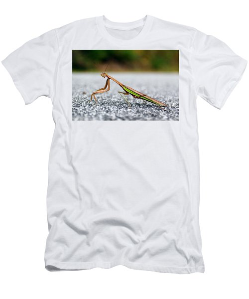 Posing For The Camera Men's T-Shirt (Athletic Fit)