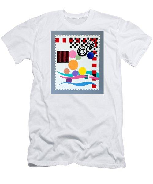 Postage Paid Men's T-Shirt (Slim Fit) by Thomas Gronowski