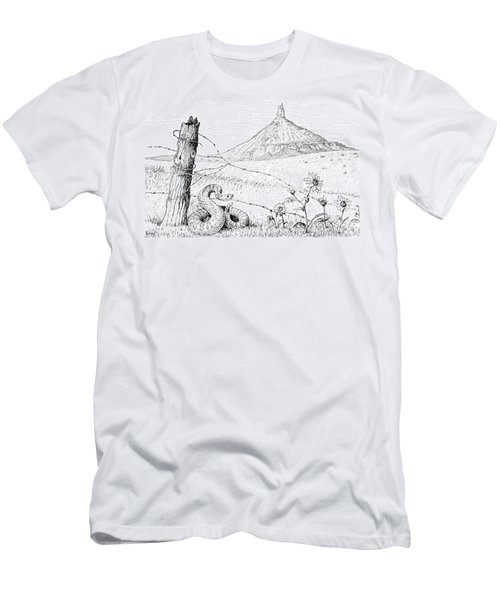 Prairie Rattler Men's T-Shirt (Athletic Fit)