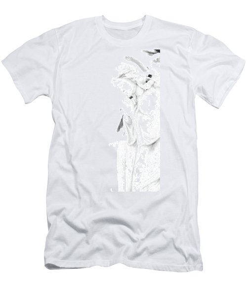 Men's T-Shirt (Slim Fit) featuring the photograph Pray by Linda Shafer