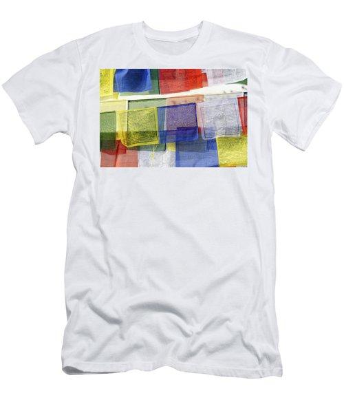 Prayer Flags Men's T-Shirt (Athletic Fit)