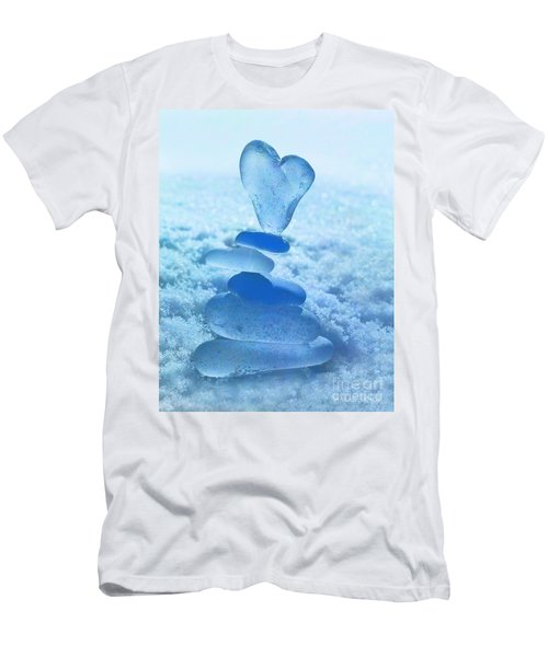 Precarious Heart Men's T-Shirt (Athletic Fit)