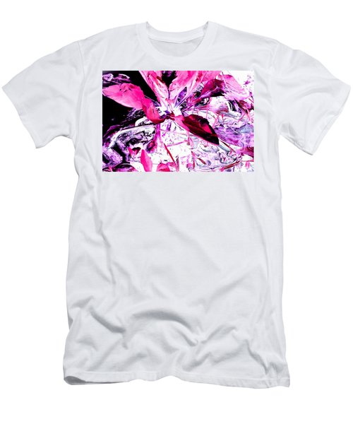 Pretty Pink Weeds 5 Men's T-Shirt (Athletic Fit)
