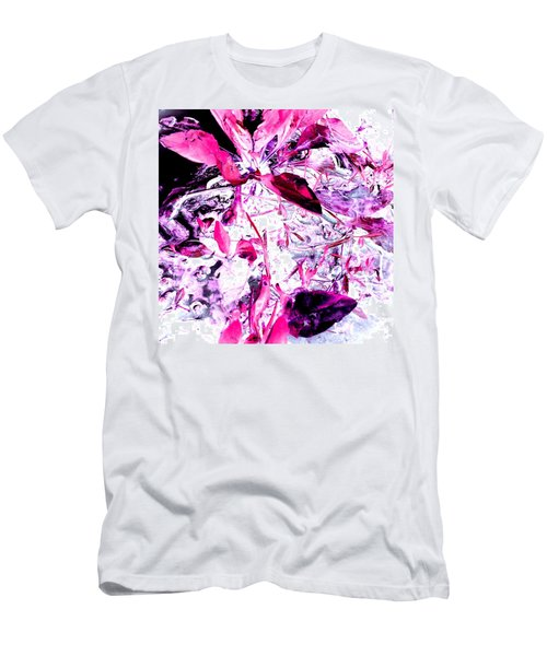 Pretty Pink Weeds 6 Men's T-Shirt (Athletic Fit)