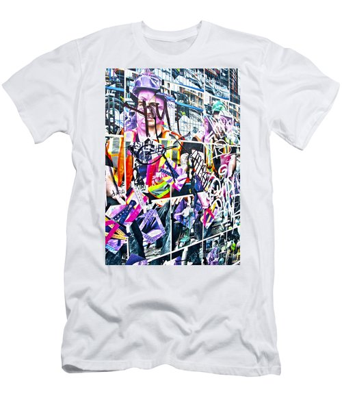 Pretty Random Men's T-Shirt (Slim Fit) by Chris Dutton