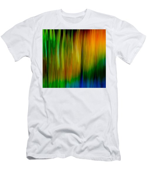 Primary Rainbow Men's T-Shirt (Athletic Fit)