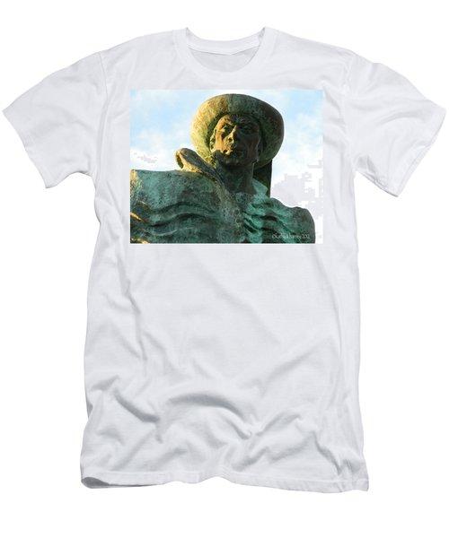 Prince Henry The Navigator Men's T-Shirt (Slim Fit) by Kathy Barney