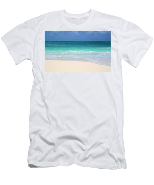 Pristine Beach Cancun Men's T-Shirt (Athletic Fit)