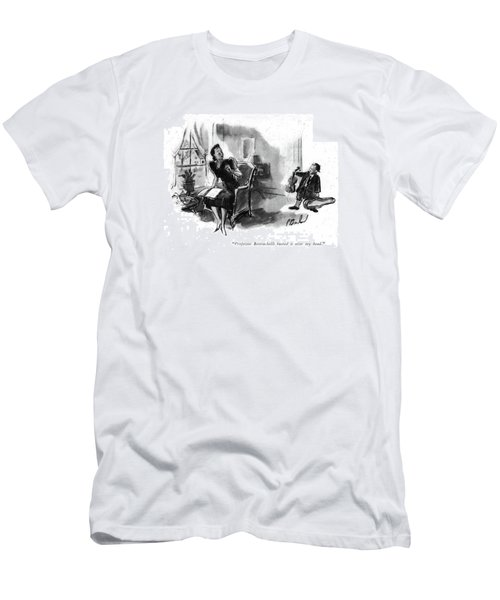 Professor Bettrachelli Busted It Over My Head Men's T-Shirt (Athletic Fit)