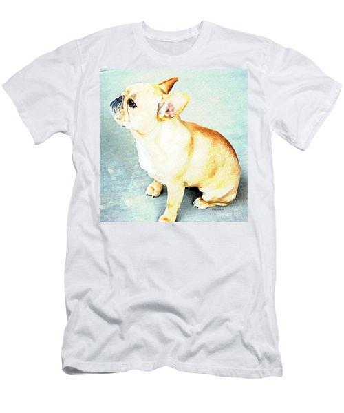 Profile In Frenchie Men's T-Shirt (Athletic Fit)