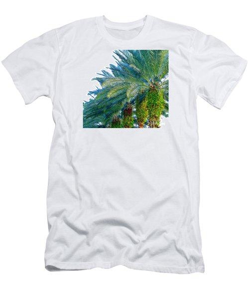 Progression Of Palms Men's T-Shirt (Slim Fit) by Joy Hardee