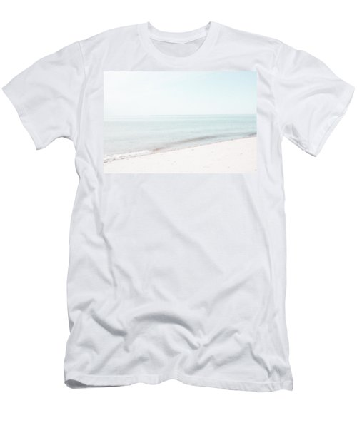 Men's T-Shirt (Slim Fit) featuring the photograph Provincetown From Ryder Beach by Brooke T Ryan