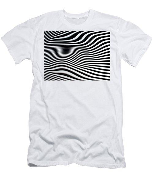 Pulsating Men's T-Shirt (Slim Fit) by Jacqi Elmslie