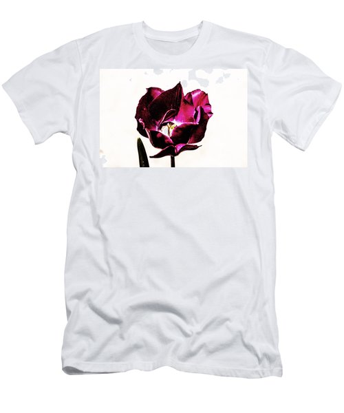 Purple Tulip Men's T-Shirt (Athletic Fit)