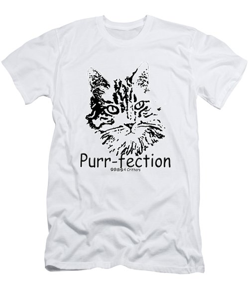 Purr-fection Men's T-Shirt (Athletic Fit)