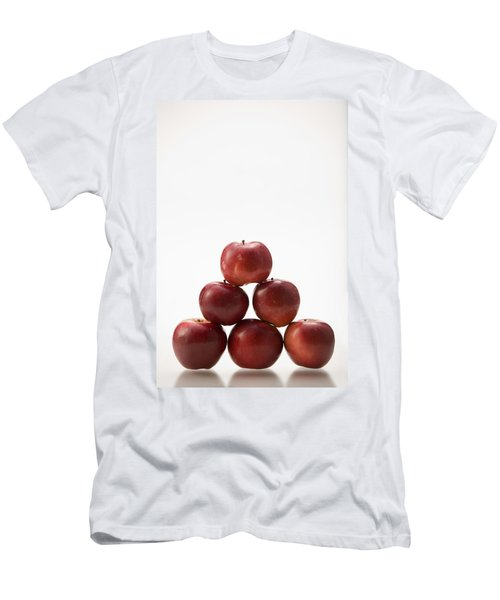 Pyramid Of Organic Apples Men's T-Shirt (Athletic Fit)