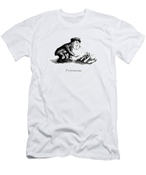 Pyromaniac Men's T-Shirt (Athletic Fit)