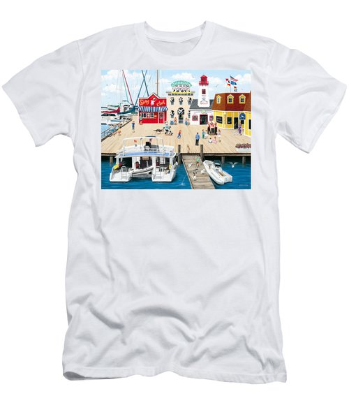 Quartet At The Quay Men's T-Shirt (Athletic Fit)