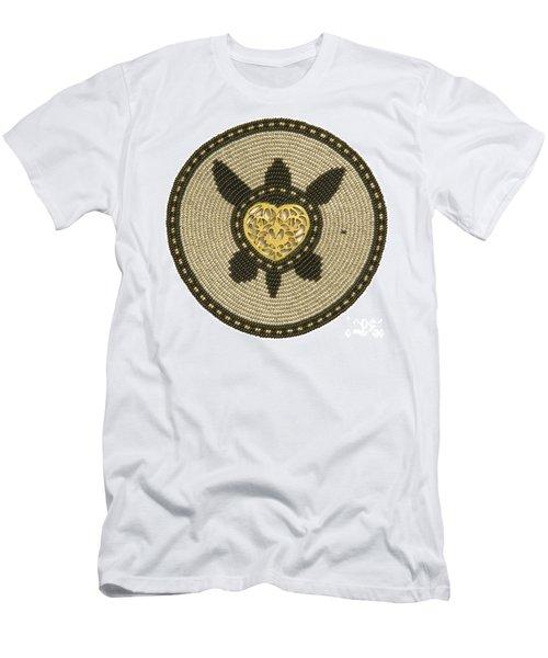 Golden Heart Men's T-Shirt (Athletic Fit)